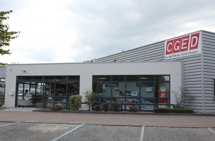 Agence de vente de matériel électrique CGED/Sonepar à Ostwald